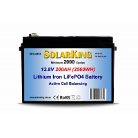 Lithium RV House Battery 200AH
