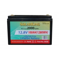 Lithium RV House Battery 100AH
