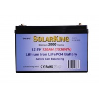 Lithium RV House Battery 120AH